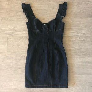 ddb0d82ef5 cinq a sept Dresses - Cinq a Sept Mathis Dress in Indigo Size 8